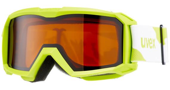 UVEX flizz LG - Gafas de esquí Niños - verde